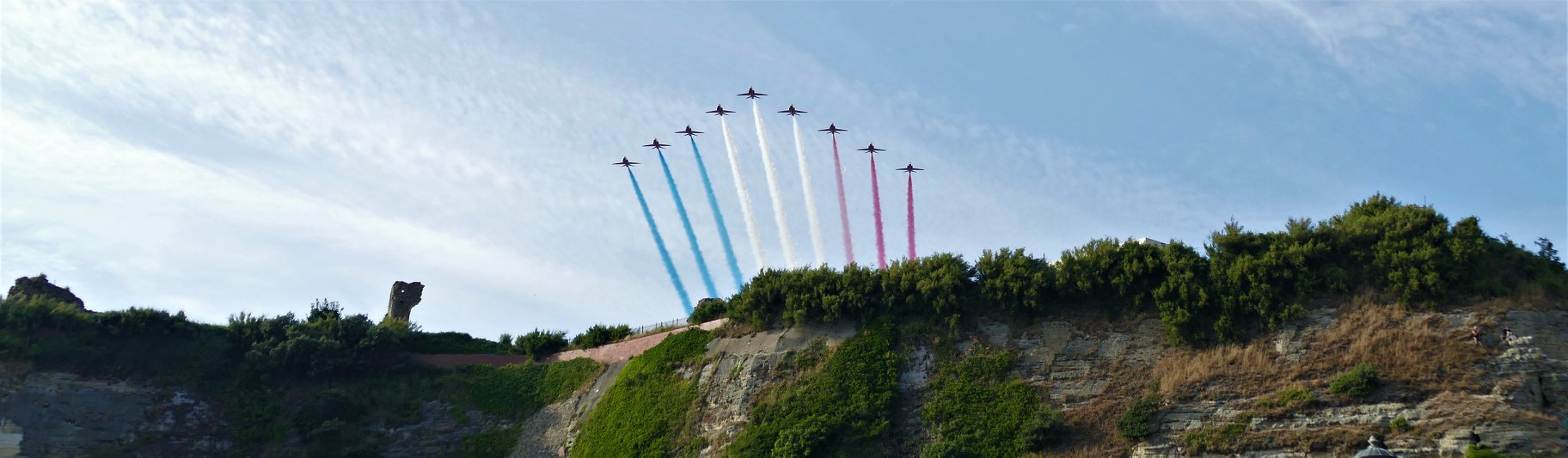 Red Arrows come to Hastings