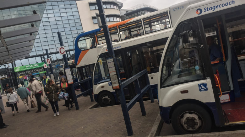 Stagecoach buses Hastings