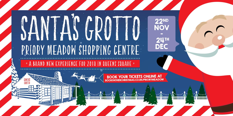 Santa's Grotto Priory Meadow Shopping Centre