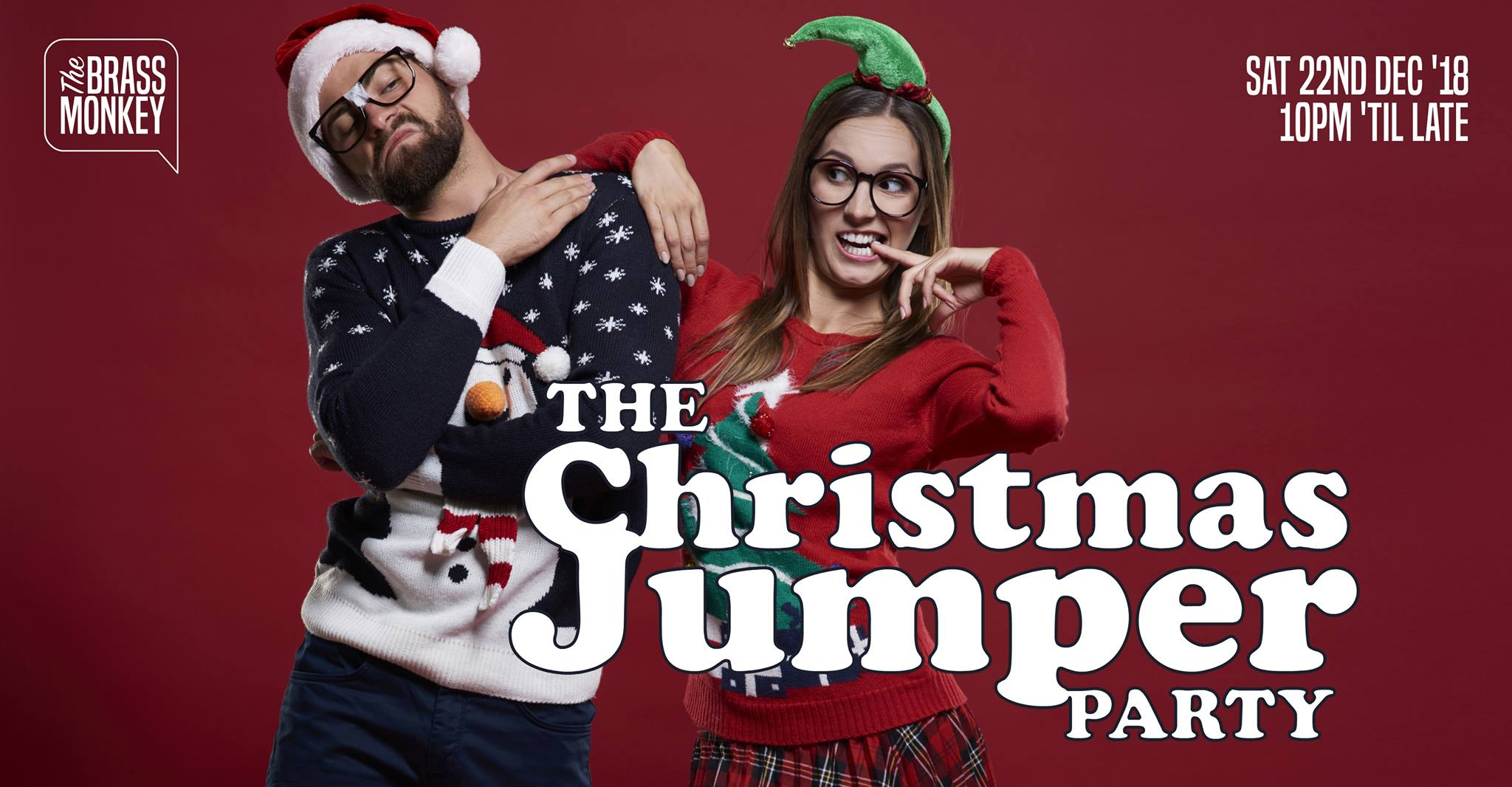 The Brass Monkey Christmas Jumper Party