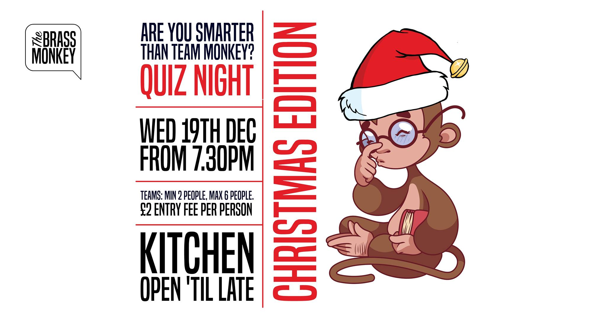 Quiz Night at the Brass Monkey