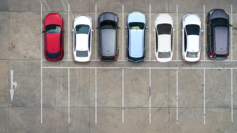 Car park in Hastings