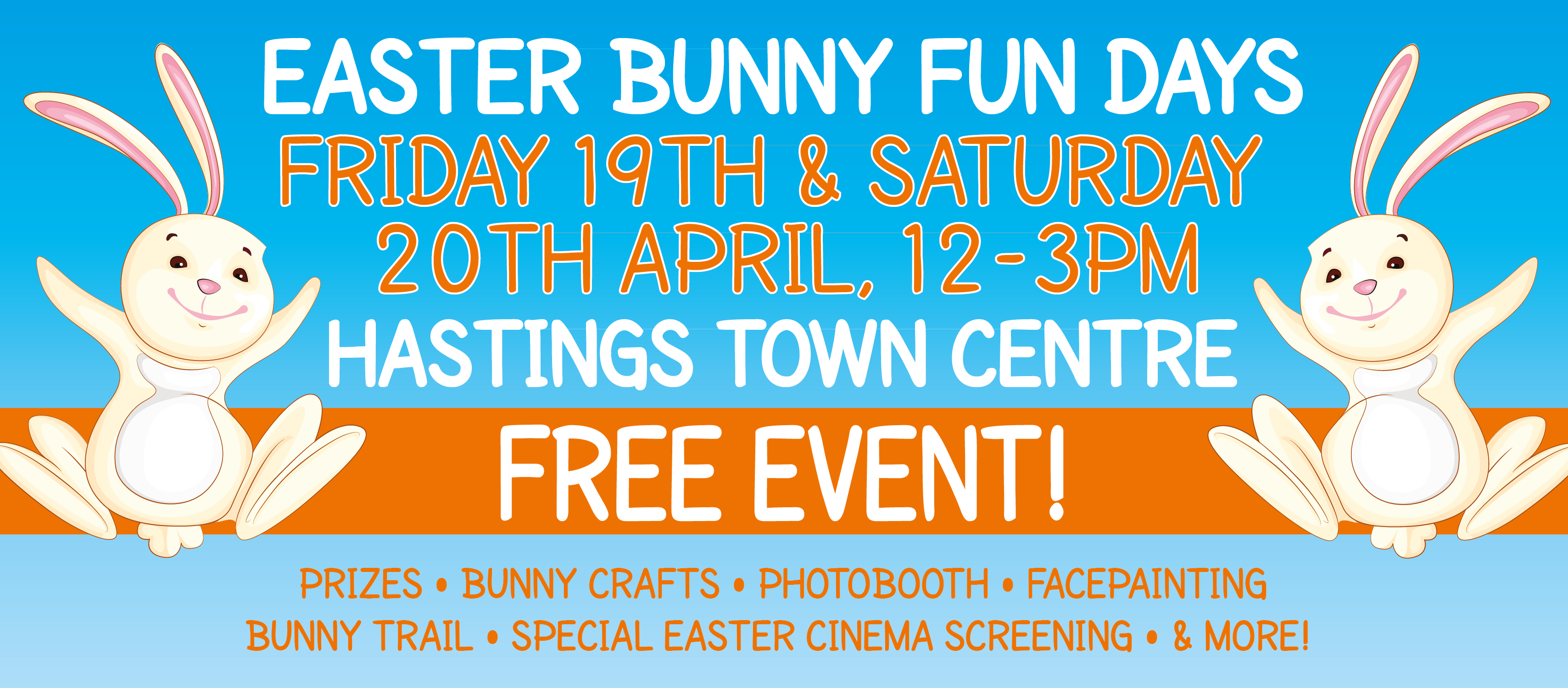 Hastings Easter Bunny Fun Days