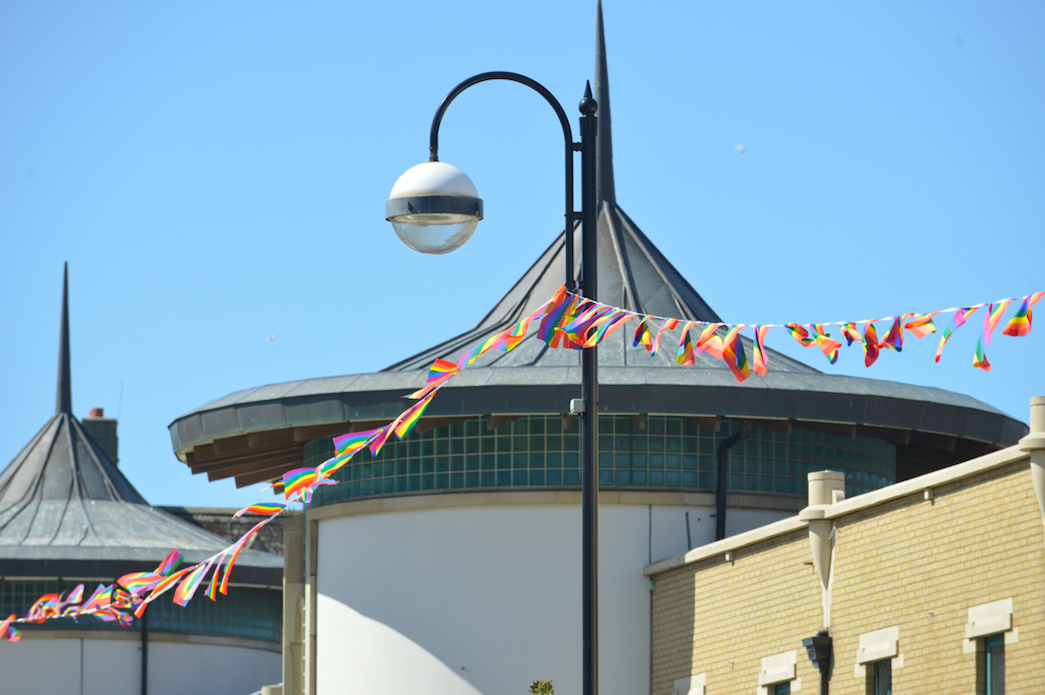 Hastings Pride bunting